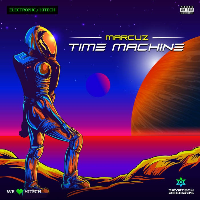 Tryptech Records - MARCUZ - Time Machine