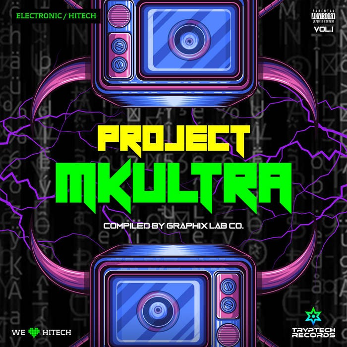Tryptech Records - .Various - Project MKUltra Vol?.?1