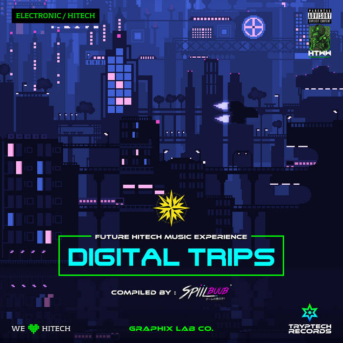 Tryptech Records - .Various - Digital Trips