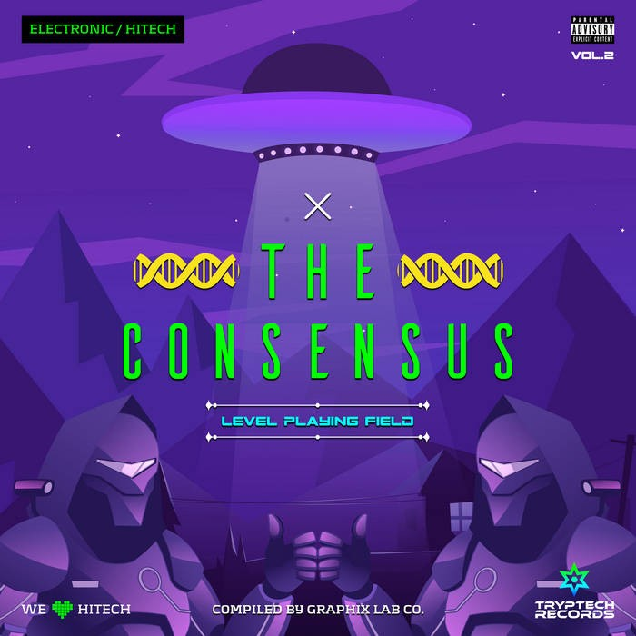 Tryptech Records - .Various - The Consensus Vol.2