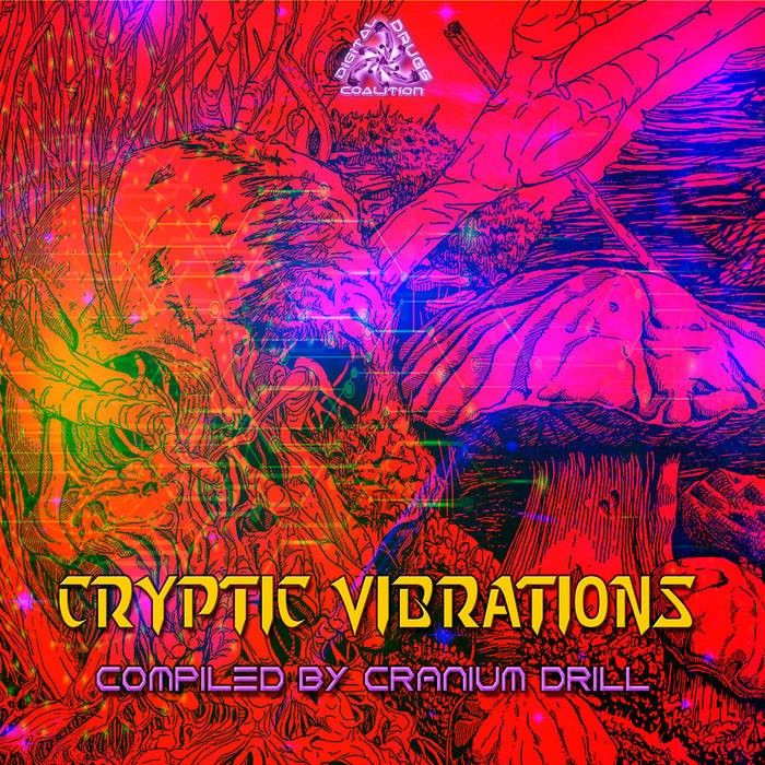 Digital Drugs Coalition - .Various - Cryptic Vibrations - Compiled By Cranium Drill