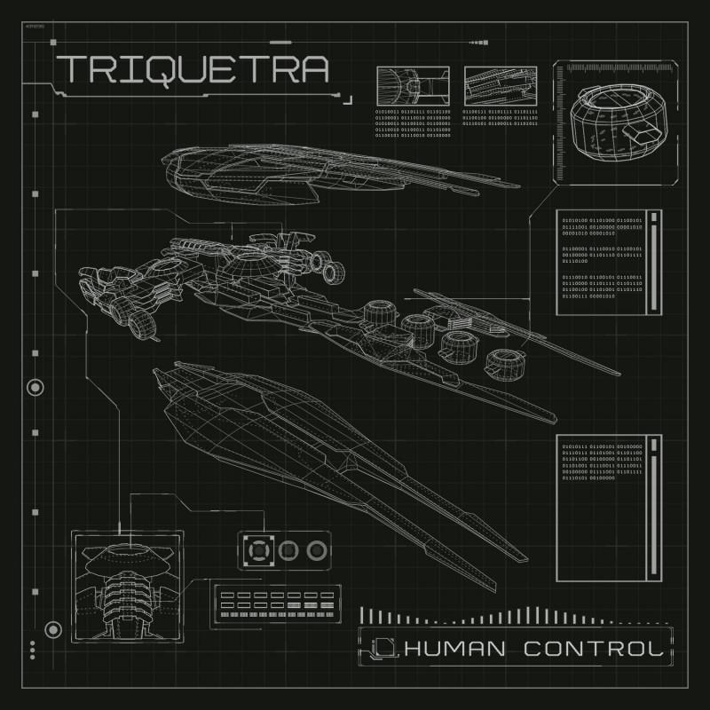 Suntrip Records - TRIQUERTRA - Human Control
