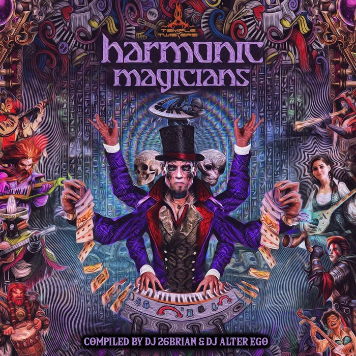 Temple Twister Records - .Various - Harmonic Magicians