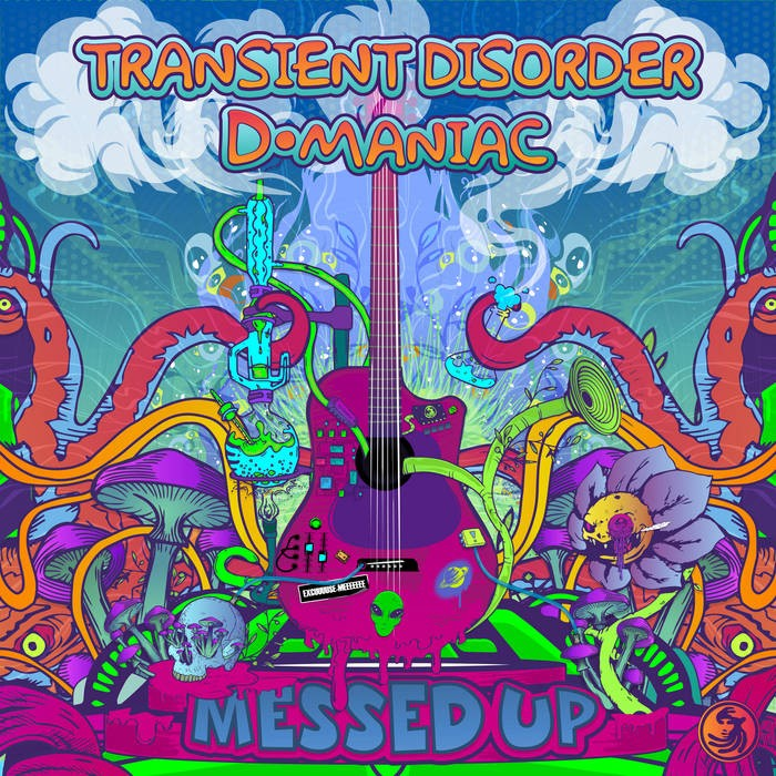 Dacru Records - TRANSIENT DISORDER, D MANIAC - Messed Up