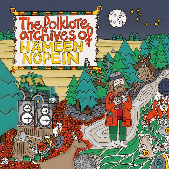 Random Records - HÄMEEN NOPEIN - The Folklore Archives Of Ha?meen Nopein