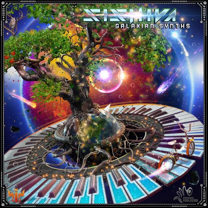 ominous evolution records - SISHIVA - Galaxian Synths