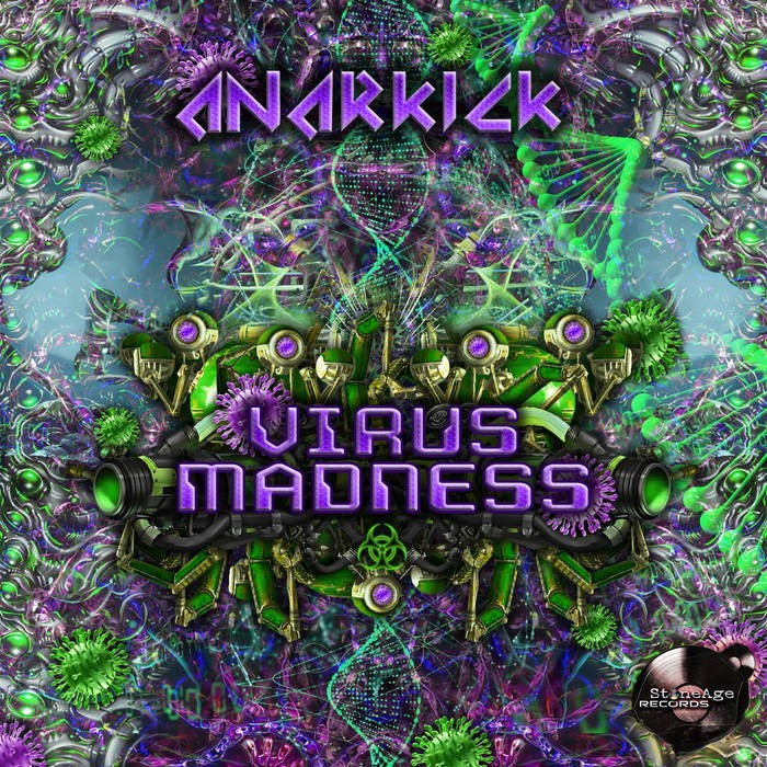 Stone Age Records - ANARKICK - Virus Madness