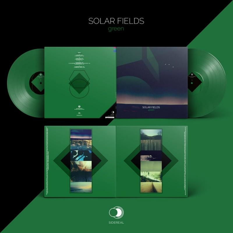 Sidereal - SOLAR FIELDS - Green (Double Vinyl)