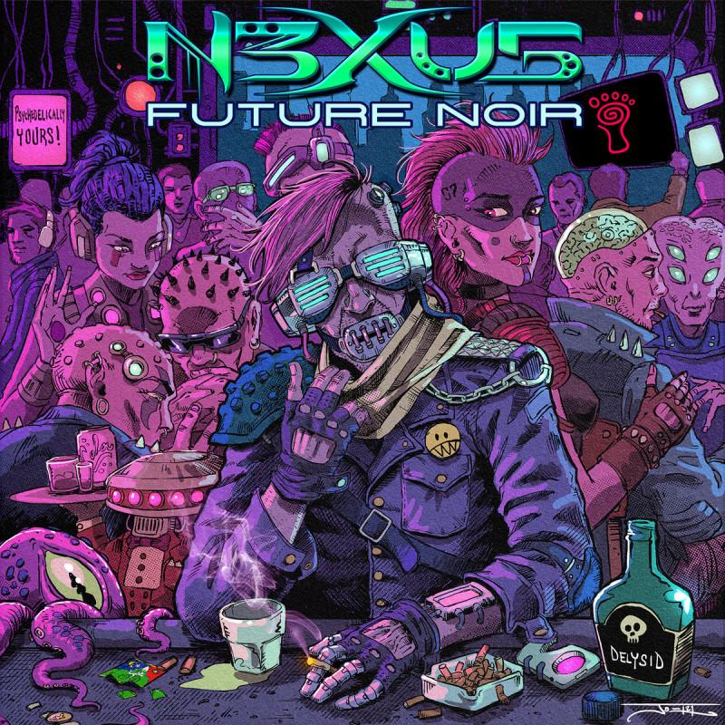 Parvati Records - N3XU5 - Future Noir