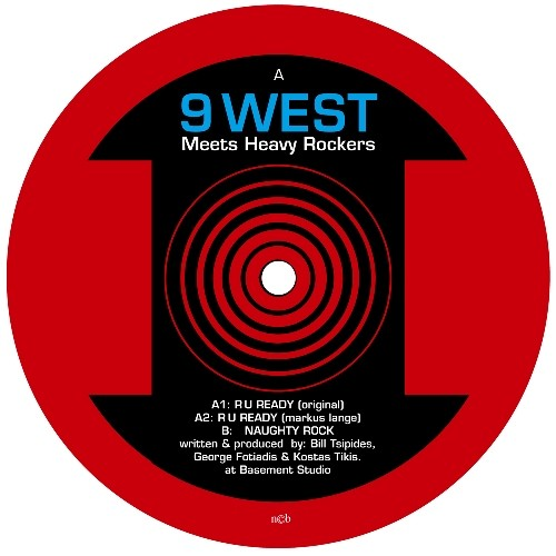 Iboga Records - 9 WEST MEETS HEAVY ROCKERS - R U Ready