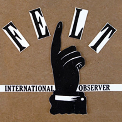 Dubmission Records - INTERNATIONAL OBSERVER - Felt