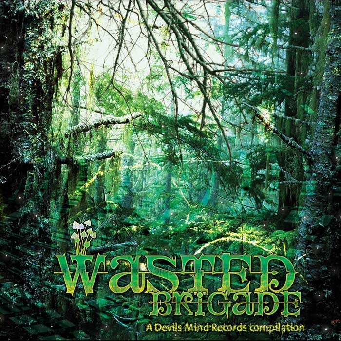 Devils Mind Records - .Various - Wasted Brigade