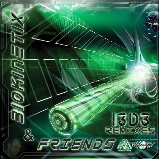 Digital Drugs Coalition - .Various - Biokinetix and Friends: I3D3 - The Remixes
