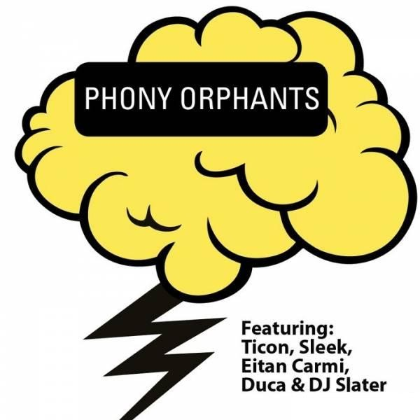Iboga Records - PHONY ORPHANTS - remixes (Digital EP)