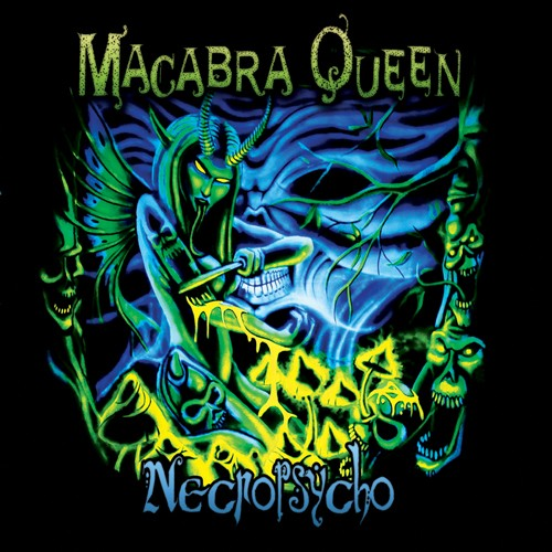 Hypnotica Records - NECROPSYCHO - Macabra Queen