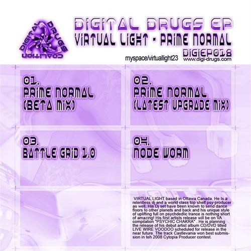 Digital Drugs Coalition - VIRTUAL LIGHT - Prime Normal (Digital EP)