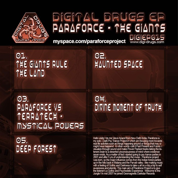 Geomagnetic.tv - PARAFORCE - Giants Rule the Land (Digital EP)
