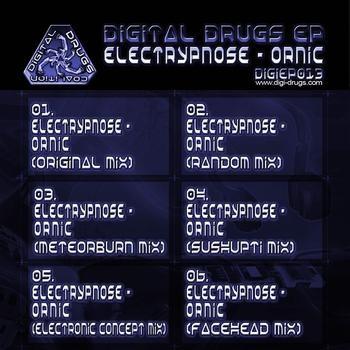 Digital Drugs Coalition - ELECTRYPNOSE - Ornic RMX - Digital EP