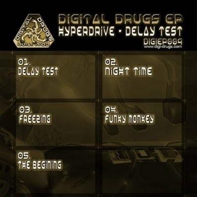 Digital Drugs Coalition - HYPER DRIVE - Delay Test (Digital EP)