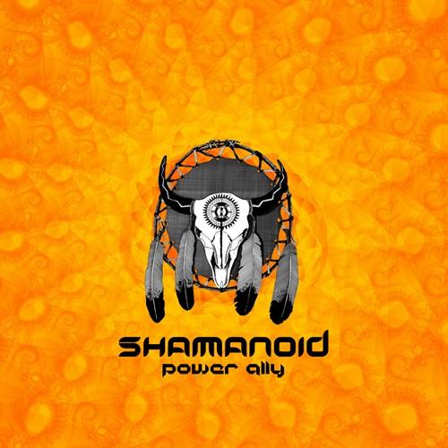D-A-R-K- Records - SHAMANOID - Power Ally