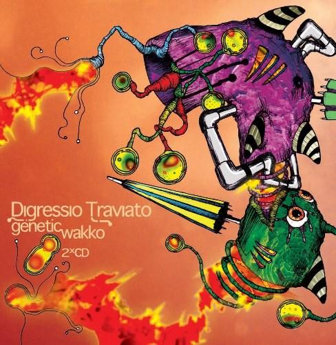 Adapted Records - DIGRESSIO TRAVIATO - Genetic Wakko / Information Overdoz
