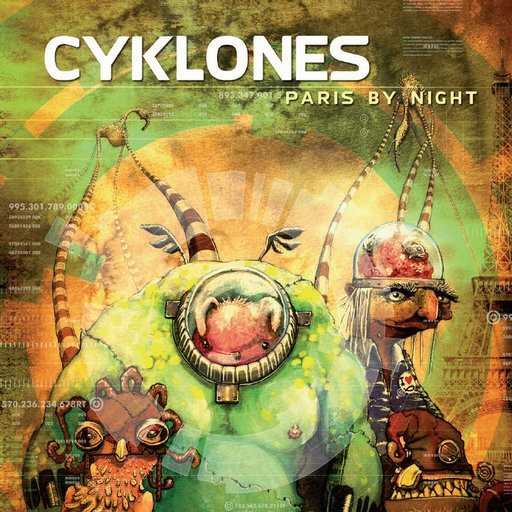 Synergetic Records - CYKLONES - Paris By Night
