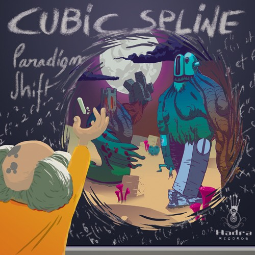 Hadra Records - CUBIC SPLINE - Paradigm Shift
