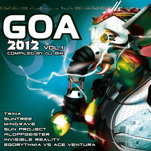 Yellow Sunshine Explosion - .Various - Goa 2012 Vol 1