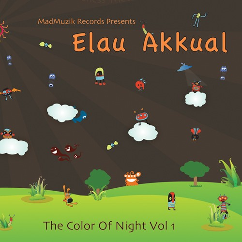 MadMuzik Records - .Various - Elau Akkual – The Color of Night Vol 1
