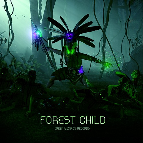Green Wizards Records - .Various - Forest Child