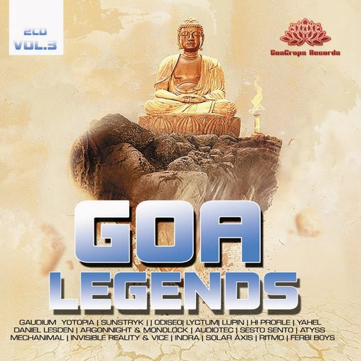GoaCrops Records - .Various - Goa Legends Vol 3