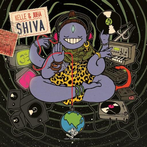 Goa Records - KELLE & JUHA - Shiva