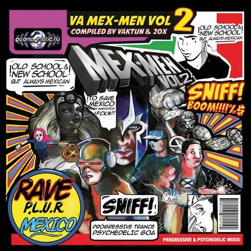 Geomagnetic.tv - .Various - Mex-Men Vol 2