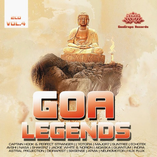 GoaCrops Records - .Various - Goa Legends Vol 4