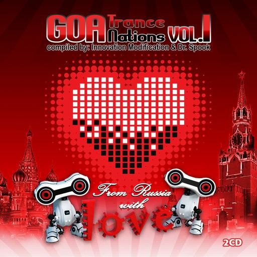 Goa Records - .Various - Goa Trance Nations Vol 1