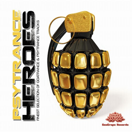 GoaCrops Records - .Various - Psytrance Heroes