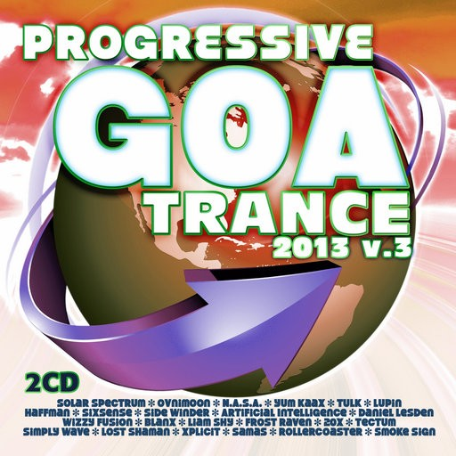 Fresh Frequencies - .Various - Progressive Goa Trance 2013 Vol 3