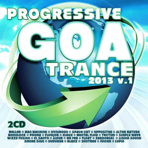 Fresh Frequencies - .Various - Progressive Goa Trance 2013 Vol 1