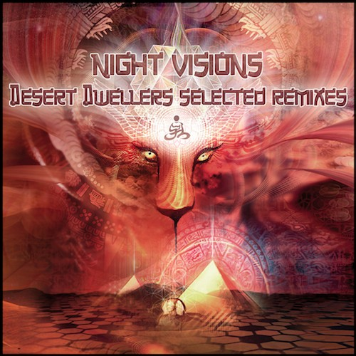 Black Swan Sounds - .Various - Night Visions: Desert Dwellers Selected Remixes