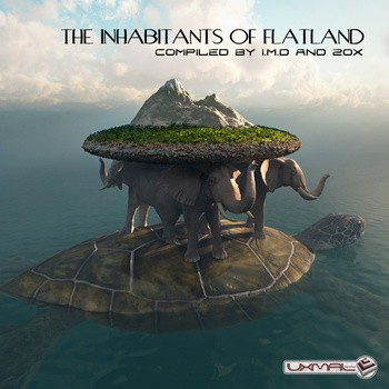 Uxmal Records - .Various - The inhabitants of flatland