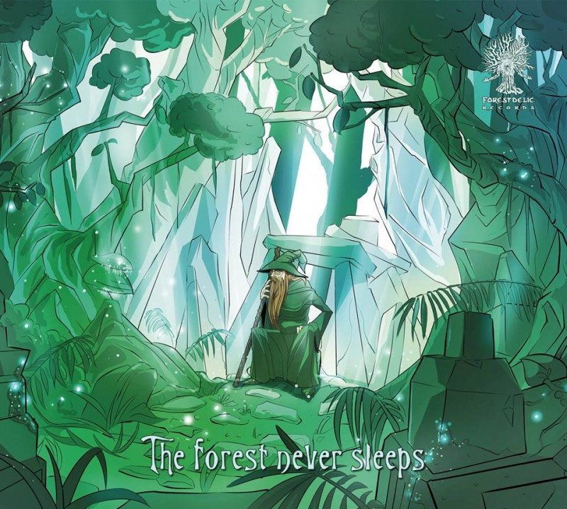 Forestdelic Records - .Various - The Forest Never Sleeps