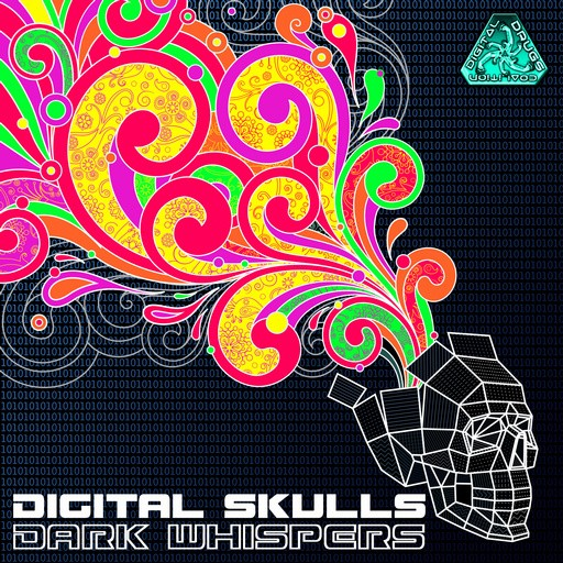 Digital Drugs Coalition - DIGITAL SKULLS - Dark Whispers (digiep076)