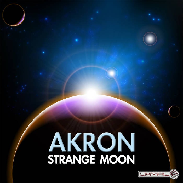 Uxmal Records - AKRON - Strange Moon