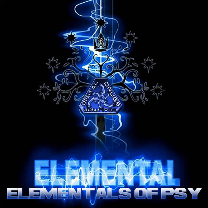 Digital Drugs Coalition - ELEMENTAL - Elementals Of Psy (digiep054)