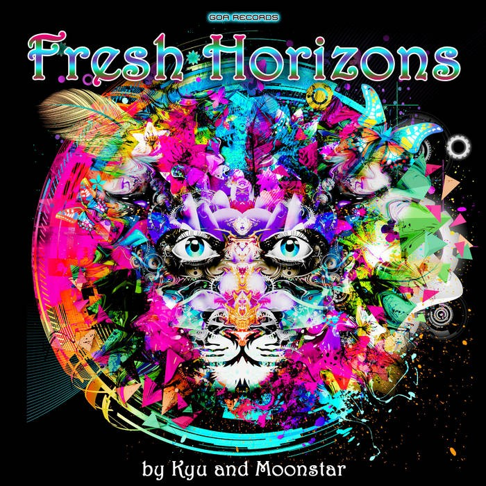 Goa Records - .Various - Fresh Horizons (Kyu and Moonstar) (goaLP023)
