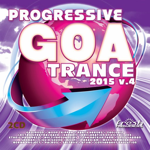Fresh Frequencies - .Various - Progressive Goa Trance 2015 Vol 4