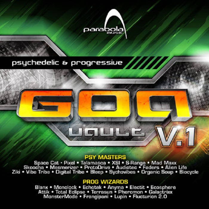 Parabola Music - .Various - Goa Vault Vol 1 (PAO2CD016)