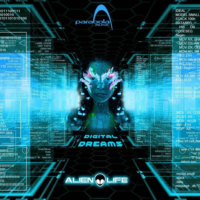 Parabola Music - ALIEN LIFE - Digital Dreams (PAO1DW922)
