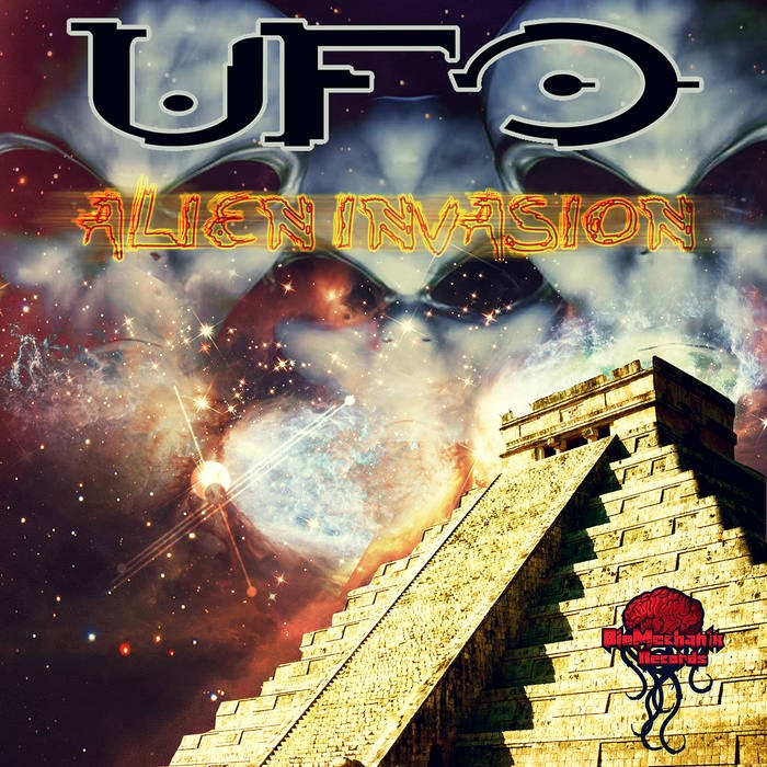 Biomechanix Records - UFO - Alien Invasion