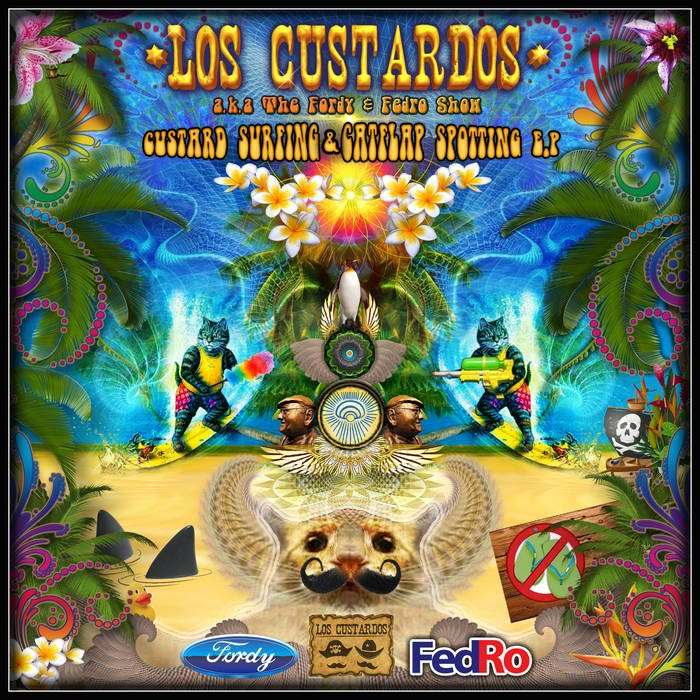 Blue Hour Sounds - LOS CUSTARDOS - Custard surfing & Catflap spotting